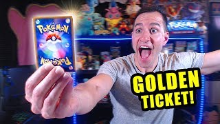 *AMAZING!* I Pulled SECRET RARE GOLDEN SHINY POKEMON CARDS When Opening a BOOSTER BOX!
