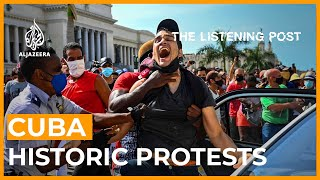 Cuba: Protesters move from social media to the streets