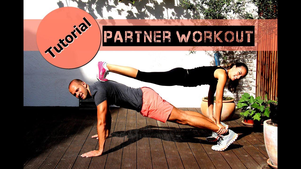 Partner Workout - Gemeinsam Trainieren - Ganzkörper Übungen für ...