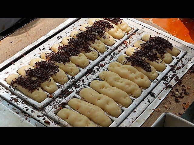 Indonesian Street Food Kue Pukis Mini Chocolate Cheese Cakes Dessert Youtube