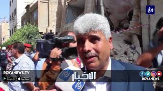 5 وفيات وعشر إصابات ضحايا انهيار مبنى سكني في مدينة الزرقاء - (4-7-2018)