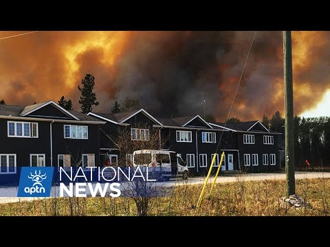 Two First Nation in Manitoba evacuated due to wild fires | APTN News