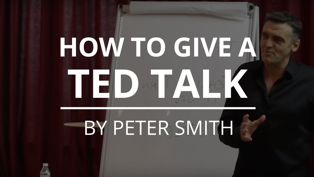 how to write a ted talk