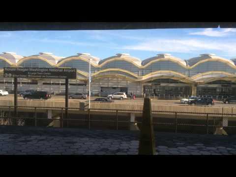 Washington Metro Blue Line Reagan Airport to Pentagon City