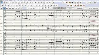 朝の連ドラの中でも印象的なマーチなこの曲。標準的な吹奏楽の編成にア...