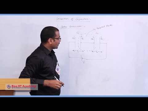 Capacitors 1 - IIT JEE Main & Advanced Physics Video Lecture [RAO IIT ACADEMY]