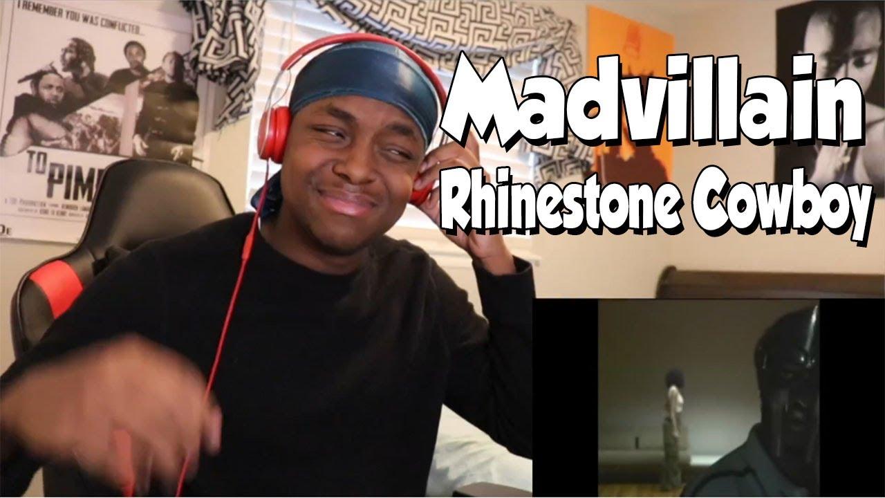 FIRST TIME HEARING- Madvillain (MF Doom + Madlib) - Rhinestone Cowboy REACTION