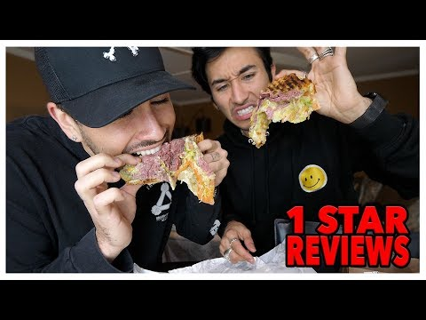 Eating At The WORST Reviewed Sandwich Deli Restaurant In My City (Los Angeles)