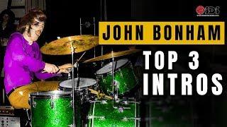 3 John Bonham Drum Intros Every Drummer Should Know