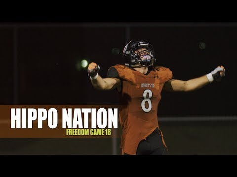 Hutto Hippo Football - Freedom Game 18