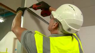 HOW TO Install a metal frame ceiling
