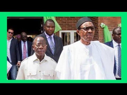 HEAR WHAT PRESIDENT BUHARI TOLD OSHIOMHOLE IN ABUJA CONCERNING EDO STATE...