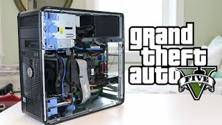 Can a $100 Gaming PC Play GTA 5?!?