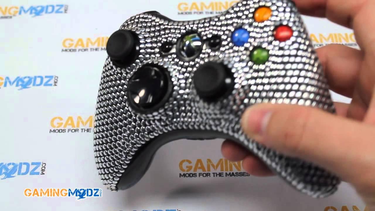 Xbox 360 Controller Diamond Xbox 360 Modded Controller