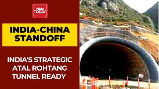 India-China LAC Standoff: India's Strategic Atal Rohtang Tunnel Ready For Use