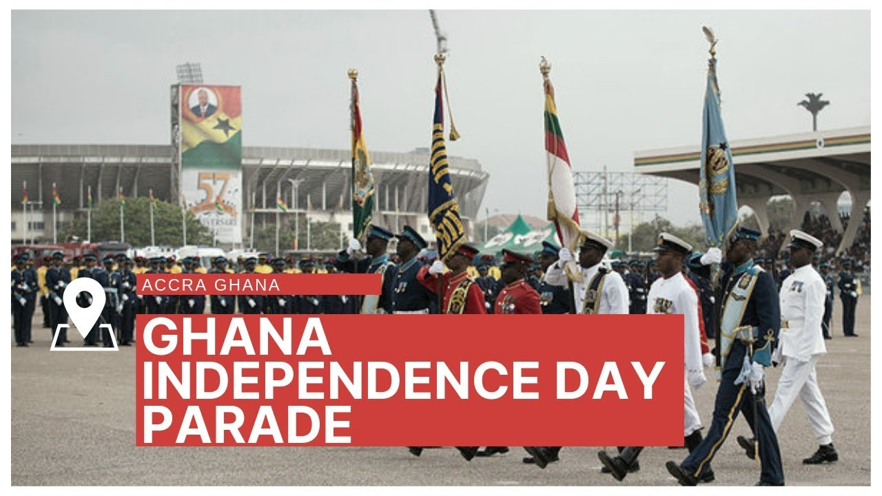 Ghana independence day parade is a waste of time Ghana is not Independent