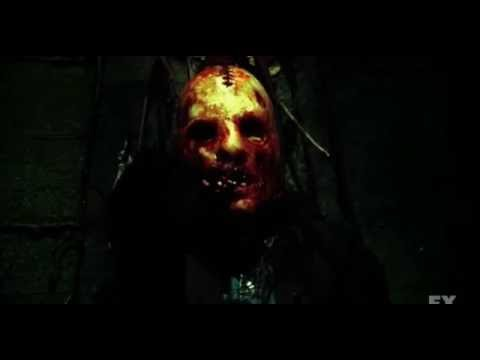 American Horror Story Asylum - 2x13 Madness Ends Opening Scene/ Bloody Face Junior
