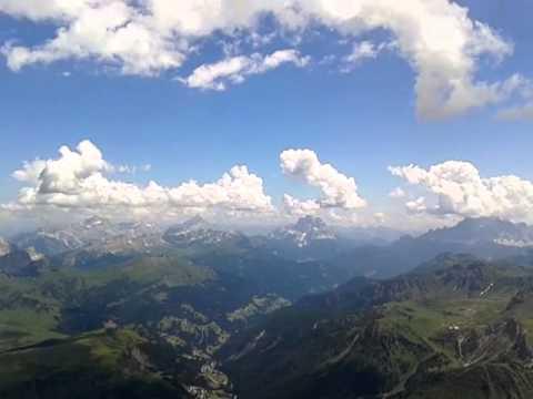 vista dal Piz Boe\' una terrazza sulle Dolomiti a m 3150 - YouTube