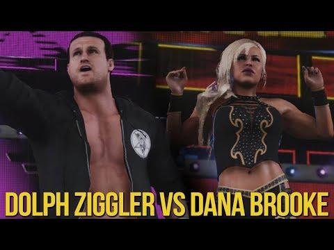 dana brooke and dolph ziggler engaged