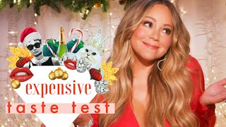 Download Mariah Carey Doesn't Have Time for Cheap Christmas Decorations | Expensive Taste Test | Cosmopolitan Mp3 and Videos