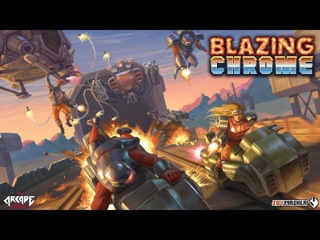 Blazing Chrome - Environments Trailer