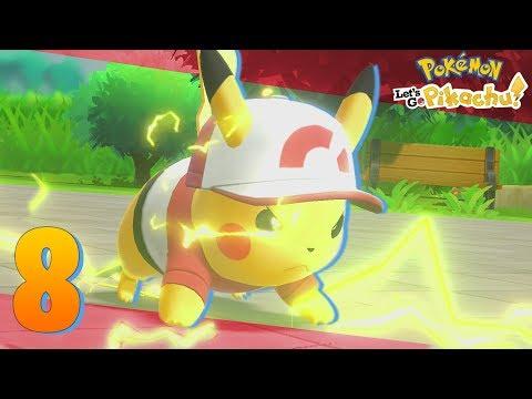 Pokémon Lets Go Ep.8 - EL SUPER ATAQUE DEL PIKACHU ESPECIAL