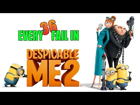 Every Fail In Despicable Me 2 | Mistakes, Goofs and Everything Wrong With
