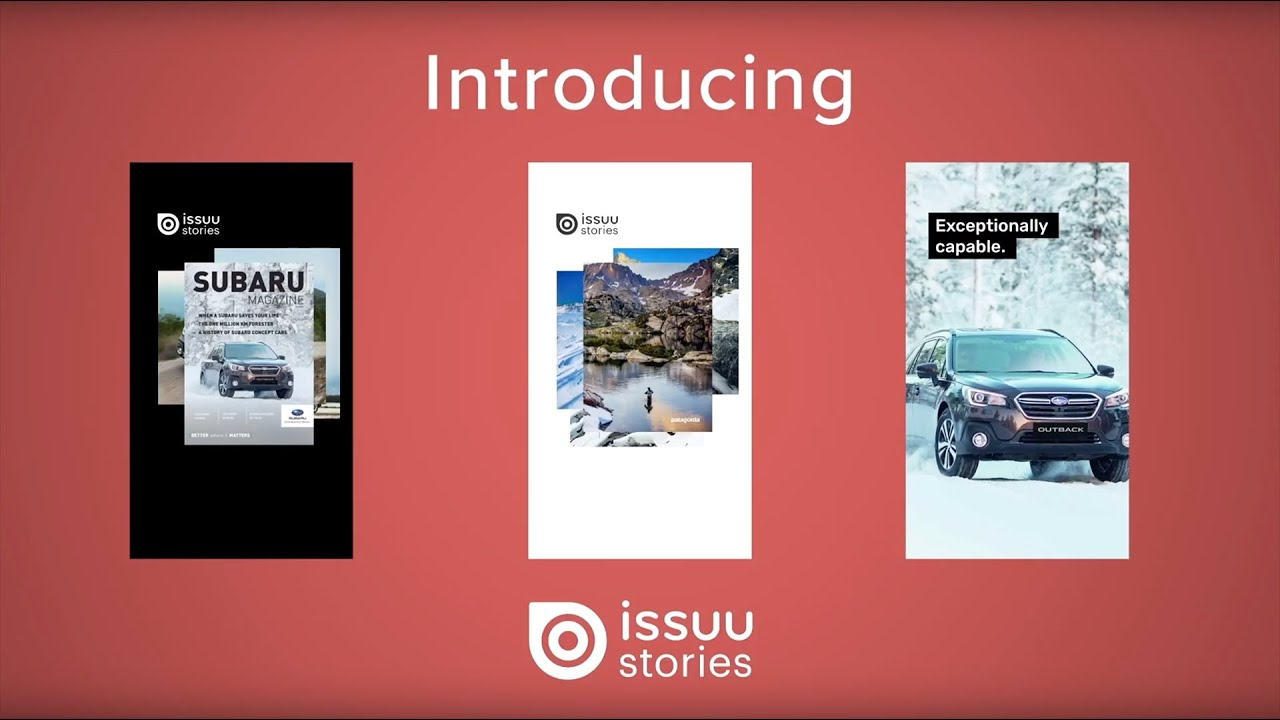 Issuu Story Cloud | Easily Create & Share Instagram Stories