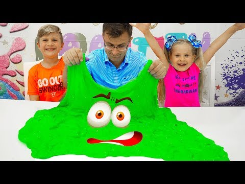 Diana And Roma Make A Giant Slime