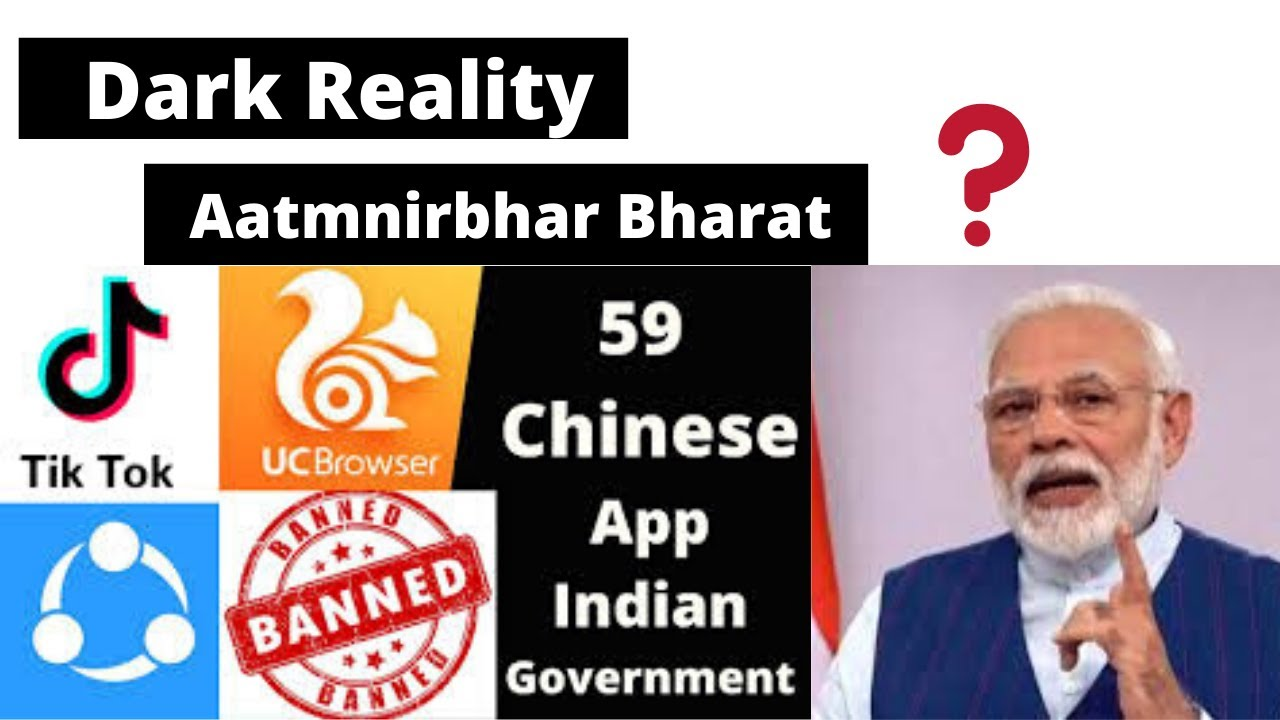 Dark reality of 59 chinese APP ban in India How to be Aatmnirbhar Bharat ?startup India | tiktok ban