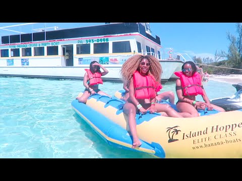 BAHAMAS VACAY | SUMMER '16 | Pt.5 | HANGIN w/LOCALS | BANANA BOAT RIDE FROM HELL | BEST DAY EVER!!