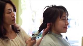 名古屋市新瑞橋の美容室 SWITCHの動画です。 背景で泣き声がして...