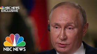 Hauv NBC Xov Xwm Tshwj Xeeb, Putin Teb Rau Biden Hu Nws A 'Killer'