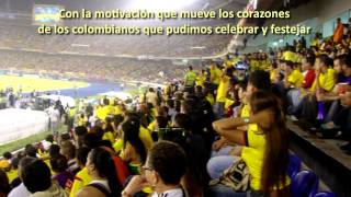 COLOMBIA vs PARAGUAY EN BARRANQUILLA  invitación UTEN