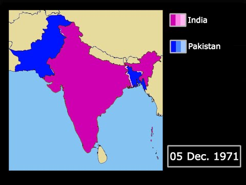 [Wars] The Indo-Pakistani War of 1971: Every Day
