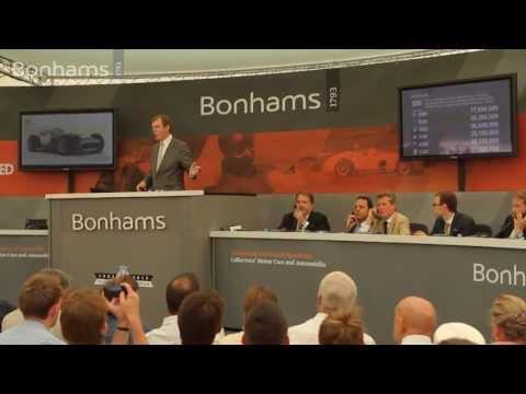 Bonhams Sells Ex-Juan Manuel Fangio Mercedes-Benz W196 For £19.6 Million