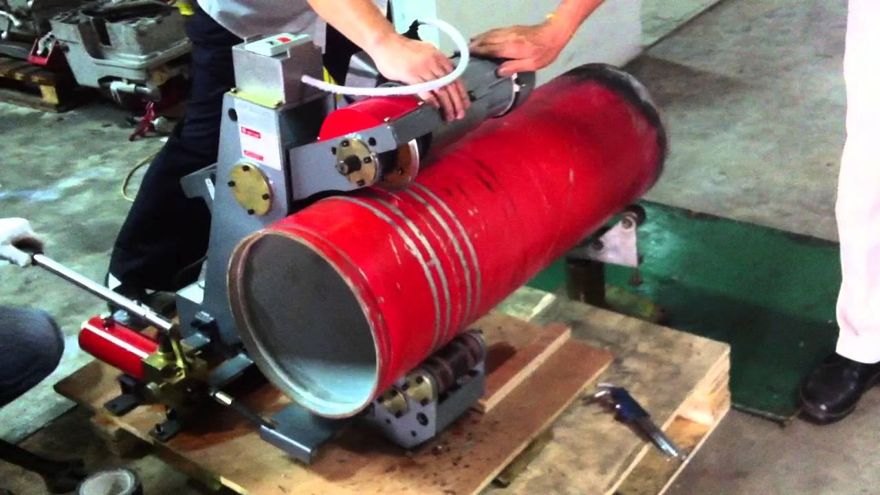 Qingyang hydraulic pipe cutter qg a youtube