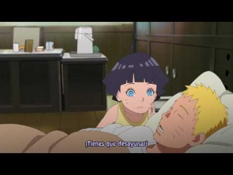 Himawari Y Boruto Despiertan A Naruto