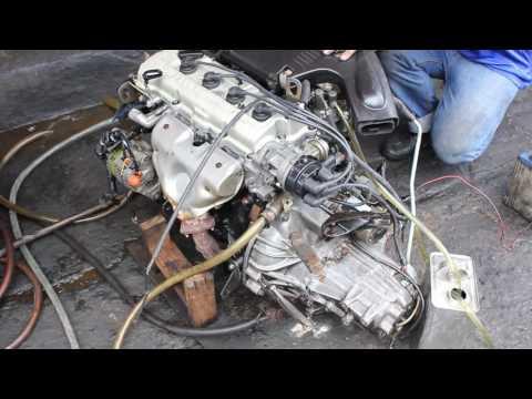 แกะกล่อง ► NISSAN SUNNY B13 (16V) เครื่อง GA14 ENGINE 1.4 (1,400 cc) PETROL by gaeglong