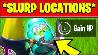 Gain Health or Shields from SLURP at SLURPY SWAMP Locations (Fortnite Season 3 Week 7)