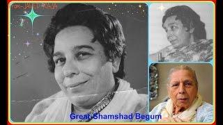 SHAMSHAD(&Chandu veshani)-Film-BHOLI-1949-O Mere Saniyyan Raat Suhani Ayi-[ Rare Gem ]