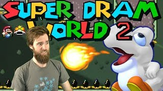 Insane Shell Jumping Nightmare (Is This Mario Maker?) [SUPER DRAM WORLD 2] [#04]