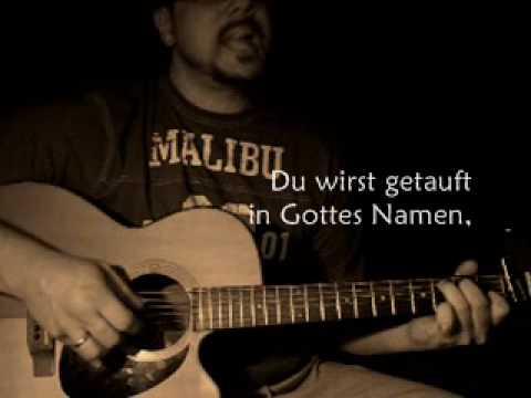Das Tauflied Mit Gitarre Und Liedtexteinblendung Cassiopeia