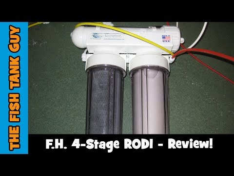 Fountainhead Water Systems 4-Stage RODI - Review!