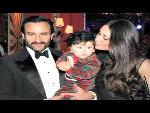 Kareena Kapoor, Saif Ali Khan, Taimur Ali Khan Perfect Family Picture