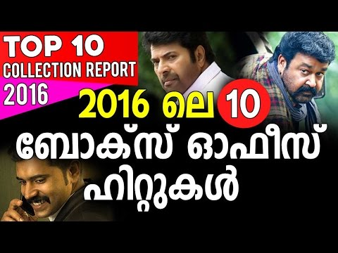 Top 10 Highest Collection Reports Malayalam Movies 2016