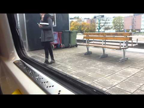 Stockholm Subway C20 Train ride Green line 19 Fridhemsplan   Hässelby Strand