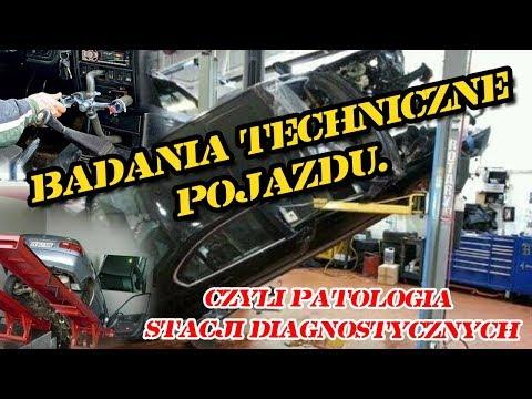 Badania Techniczne  Pojazdu - Czyli Patologia Stacji Diagnostycznych.