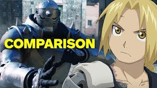 Full Metal Alchemist - Live Action Movie vs. Anime Comparison