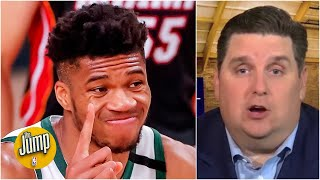 Brian Windhorst explains the 'secret agreement' Giannis can make with the Bucks | The Jump